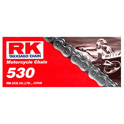 Rk Chain 530-114L-Standard Non Oring Road Use - Most Motorcycles