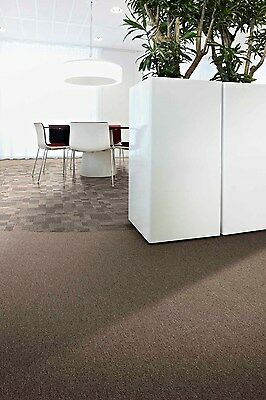 CLEARANCE - BELOW COST - CARPET TILE,  Brown, $10.00 per sq m (PVC FREE)