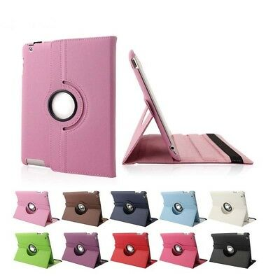 NEW 360 Rotating Smart Stand Sleep Wake Up Case Cover for Apple iPad Air