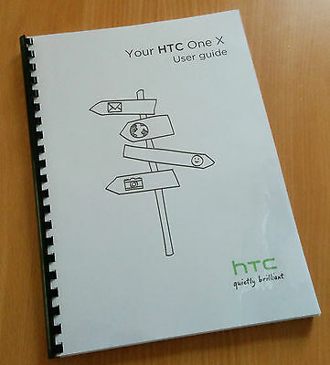 Printed HTC One M8 Instruction Manual / User Guide