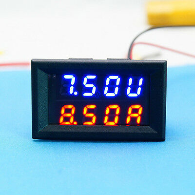 Voltmeter Ammeter DC 0-30V 10A LED Panel Amp Digital Volt Gauge 12v car meter