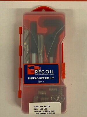 M12X1.25 Thread Repair Kit - Recoil #38128 - New in Box!