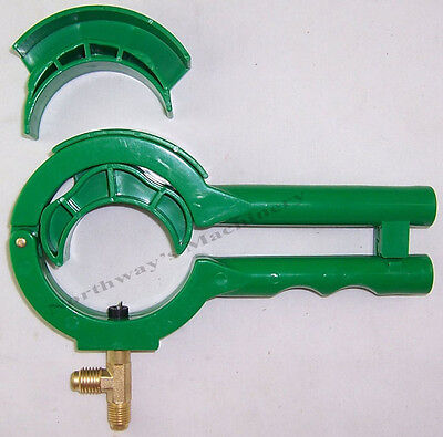 """LXCT006 Can Tap for R134a R12 Refrigerants w/Dual Fittings 1/4"""" SAE & 1/2"""" Acme"""