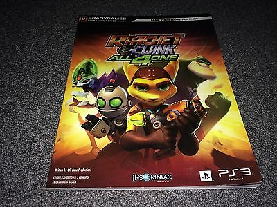 Ratchet and Clank All 4 One Signature Series Guide (2011, Paperback)