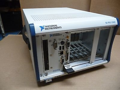 NATIONAL INSTRUMENTS PXI-1042 8-SLOT 3U PXI CHASSIS 188079B-01 w/ NI PXI-8175