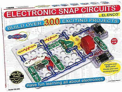 ELENCO SNAP CIRCUITS SC-300 (300 PROJECTS) AGES 8+