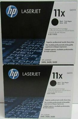 New Genuine HP 11X Laser Cartridge No Box BUT HP BAG IS SEALED