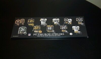 PITTSBURGH STEELERS....Old Uniform Plaque