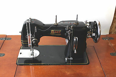 RARE sewing machine bell Germany Pfaff 130 style amazing leather heavy duty