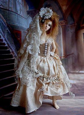 ~A HAUNTING~Ghost Halloween Outfit Dress for 1/3 SD BJD AOD Dollstown FeePle 65