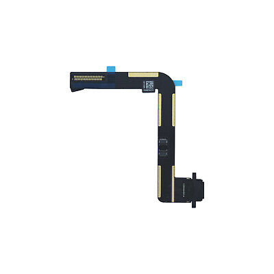 Charging Port Dock Connector Flex Cable Replacement for iPad Air Black