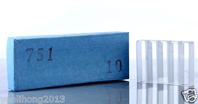 10PCS Cuvettes 751 optical glass 10mm cell cuvette Quartz cuvettes