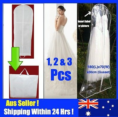 Extra Large Wedding Dress Bridal Gown Formal Garment Cover Storage Bag