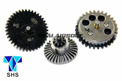 32:1 SHS New Design CNC Infinite Torque Up Gear for Ver.2/ 3 Airsoft Gearbox AEG