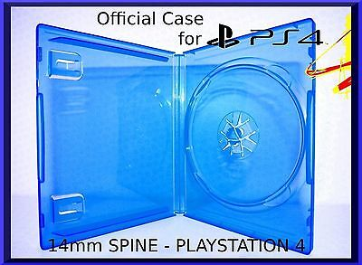 1 x PlayStation 4 PS4 Video Game Case New Empty Replacement Cover Amaray HQ A+++