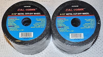 """100 Piece 4-1/2"""" 4.5 inch metal cut off wheel disc for Die Grinder 1/16"""" thick"""