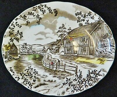 Charles Dickens Oval Serving Platter W.H. Grindley Staffordshire England