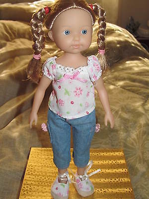 "11"" Vinyl...*BERENGUER LITTLE GIRL DOLL*...Jointed - STANDS ALONE...EXCELLENT !"