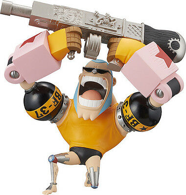 One Piece WCF World Collection Figure Mini Going Merry Attack Cyborg Franky