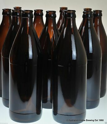 New Glass Beer Bottle 750ml x24 Carbonation Drops x 2 home brewing supplies