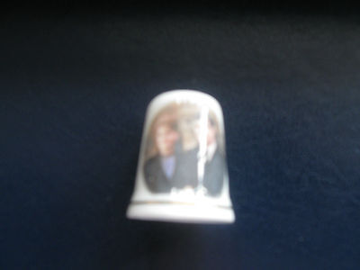 BRITISH ROYALTY PRINCE ANDREW AND SARAH FERGIE MARRIAGE THIMBLE