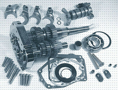 6-Speed Transmission Gear Set Harley Softail Dyna Fxr Touring Indian Chief Scout