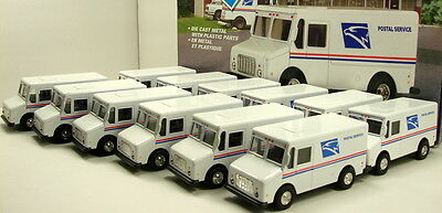 """24 X USPS United States US Postal Service 5"""" inch mail delivery truck diecast"""
