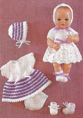 FREE KNITTING PATTERNS 12 INCH DOLLS - VERY SIMPLE FREE ...