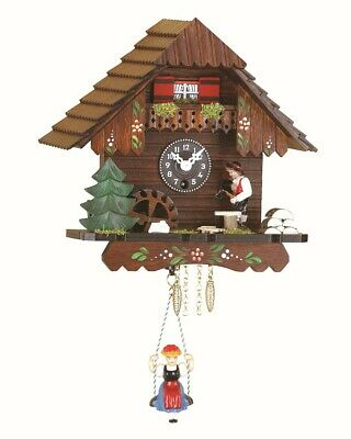 Black Forest Clock Swiss House with music TU 224 SM NEW