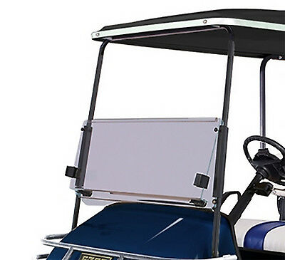 RecPro™ EZGO TXT 1994-2013 CLEAR Windshield Folding Acrylic for Golf Carts