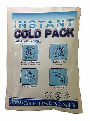Instant Cold Pack Cooling Therapy Emergency First Aid Relief for Injured Muscles