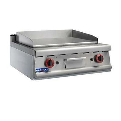 Gas Griddle / Hotplate 630x500mm, Commercial Restaurant Equipment NEW