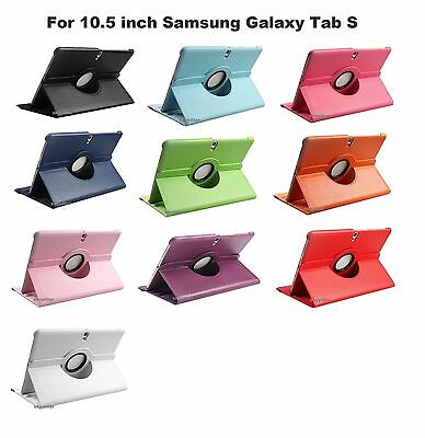 For 360 Degree PU stand Case Cover For Samsung GALAXY Tab S 10.5 SM-T800 T805