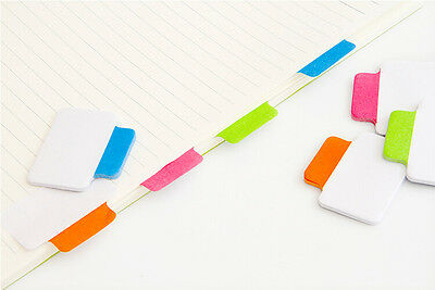 100pcs deli7159 Adhesive Index Sticker Label Sticky Note Bookmark Divider