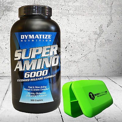 Dymatize Nutrition Super Amino 6000 180 & 345 & 500 caps