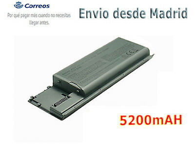 Ordenadoor Batería para Dell Latitude D620 D630 D631 M2300 Battery TYPE PC764