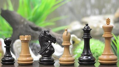 Triple Weighted Staunton Chess Set Pieces 4Q FREE SHIP