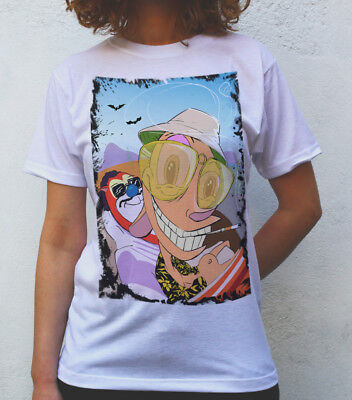 b3dc180a2 Fear and Loathing in Las Vegas T shirt Artwork, Ren and Stimpy version