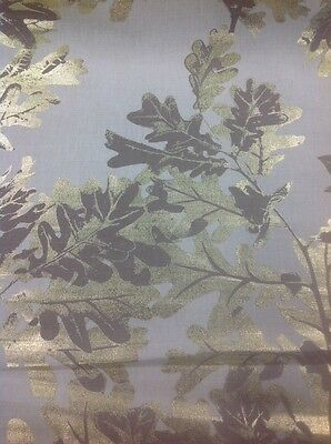 Osborne And Little Sherwood Design By The Metre In Linen And Mole
