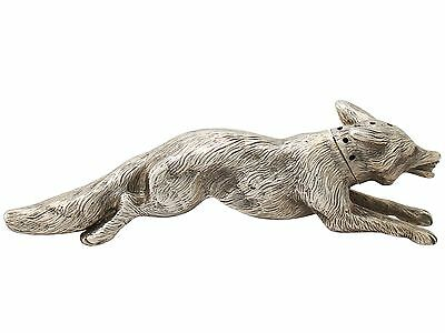 Antique, Sterling Silver 'Fox' Pepperette, George V