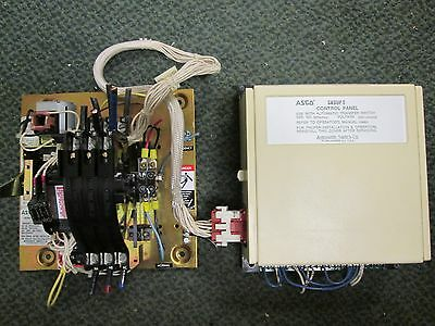 ASCO Automatic Transfer Switch w/ Controller B940310049C 100A 208Y/120V Used