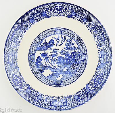 SCIO Pottery Company Blue Willow Dinner Plate China Dinnerware Tableware USA