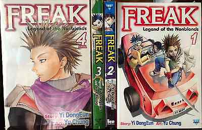 Freak (Vol. 1 - 4)  English Manga Graphic Novels Set Lot complete NEW Lot