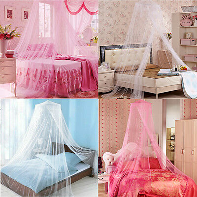 New Round Lace Curtain Dome Bed Canopy Netting Princess Mosquito Net for Bedroom