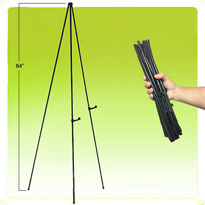 "64"" Self Setting Instant Presentation Display Portable Easy Folding Easel"