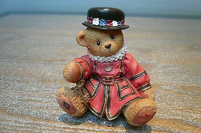 "Cherished Teddies ""Bertie"" Beefeater Limited Edition Collectors Bear Ornament"
