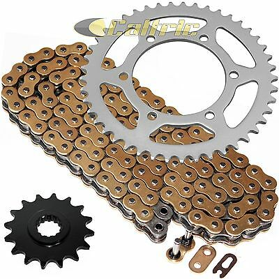 Golden O-Ring Drive Chain & Sprockets Kit Fits YAMAHA R6 YZF-R6 2006-2016
