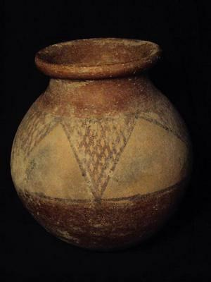 Teracotta Indus Valley Painted Pot 2000 BC
