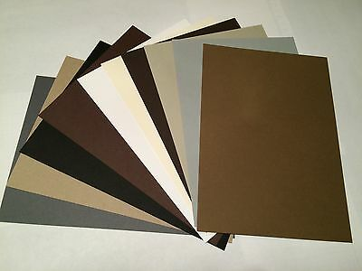 Stampin Up! Neutrals A5 Cardstock Sample pack - 10 sheets