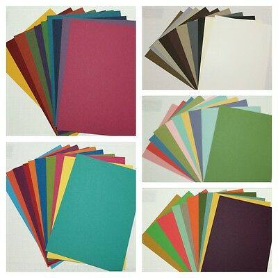 Stampin Up! A5 Cardstock Sample pack - 50 sheets